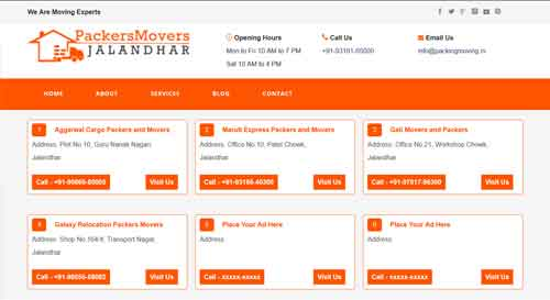 packers movers jalandhar